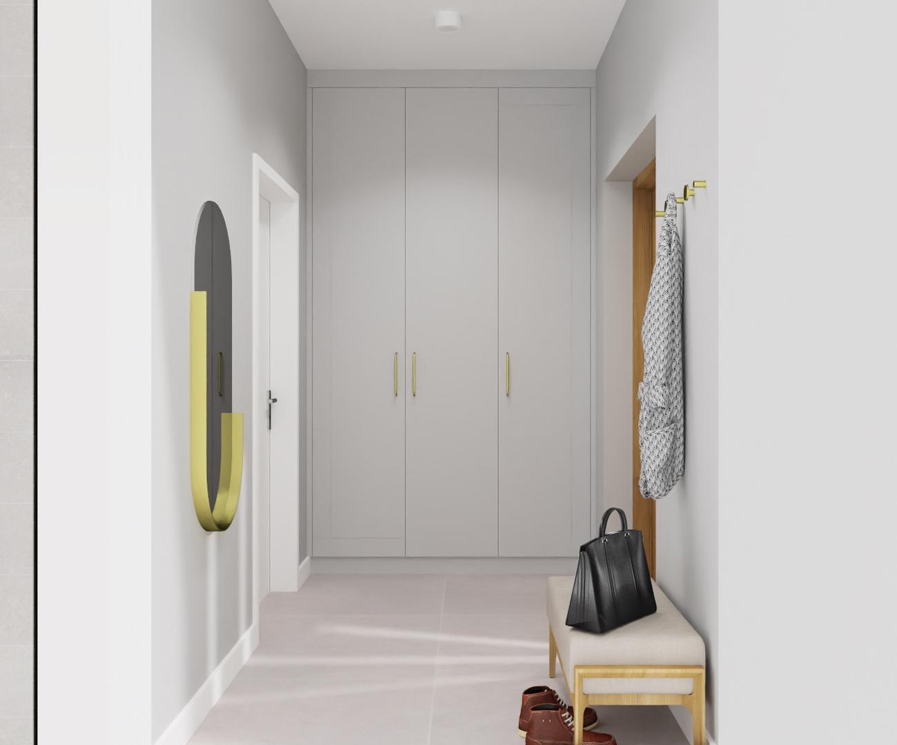Projekt sieni w domu pod Warszawą