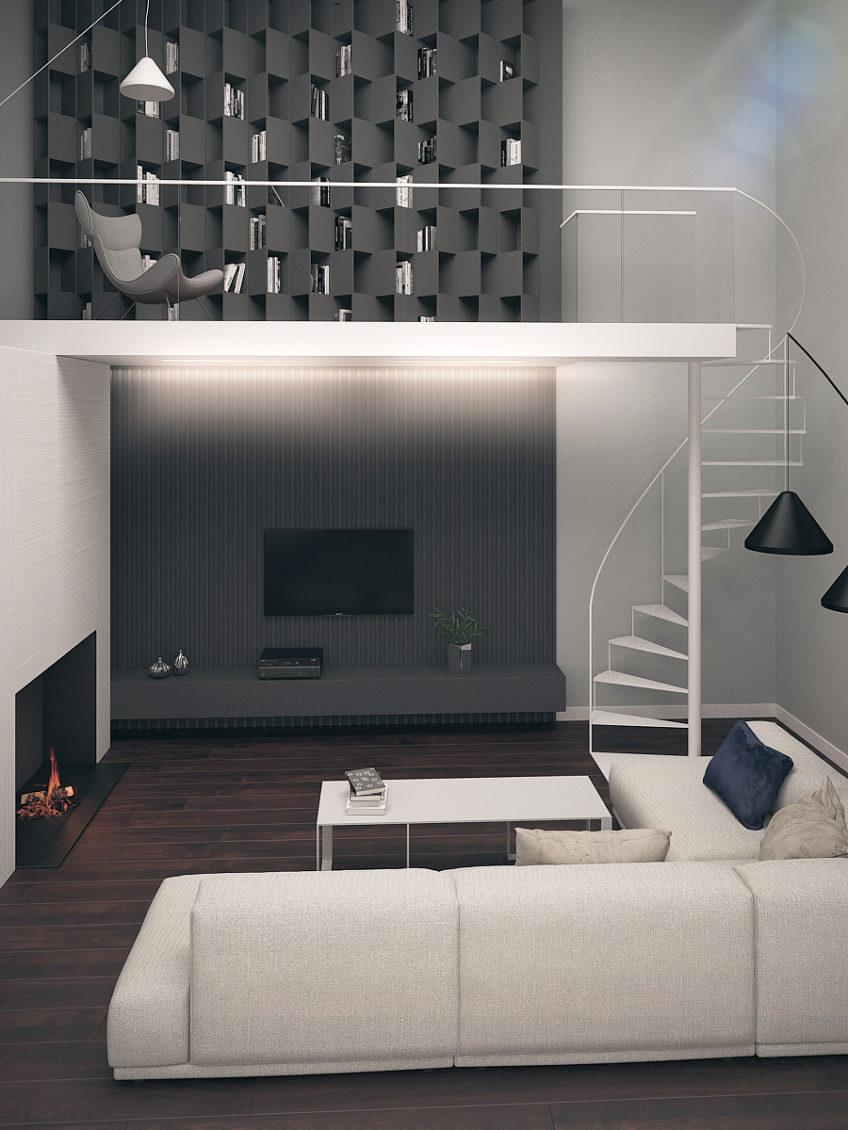 Projekt funkcjonalnego domu w Warszawie