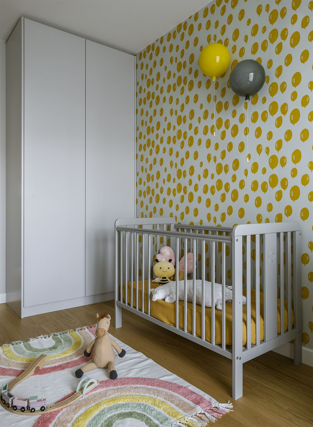 Projekt pokoju dziecka w mieszkaniu w Warszawie