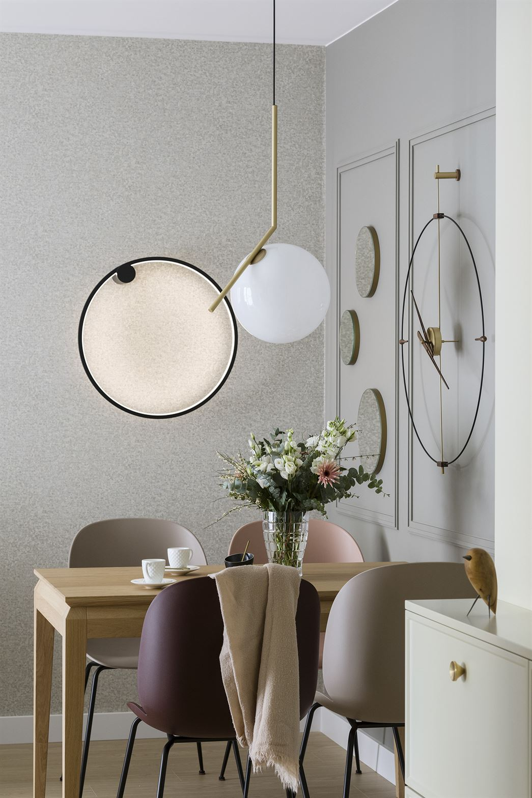 Projekt eleganckiego mieszkania w Warszawie