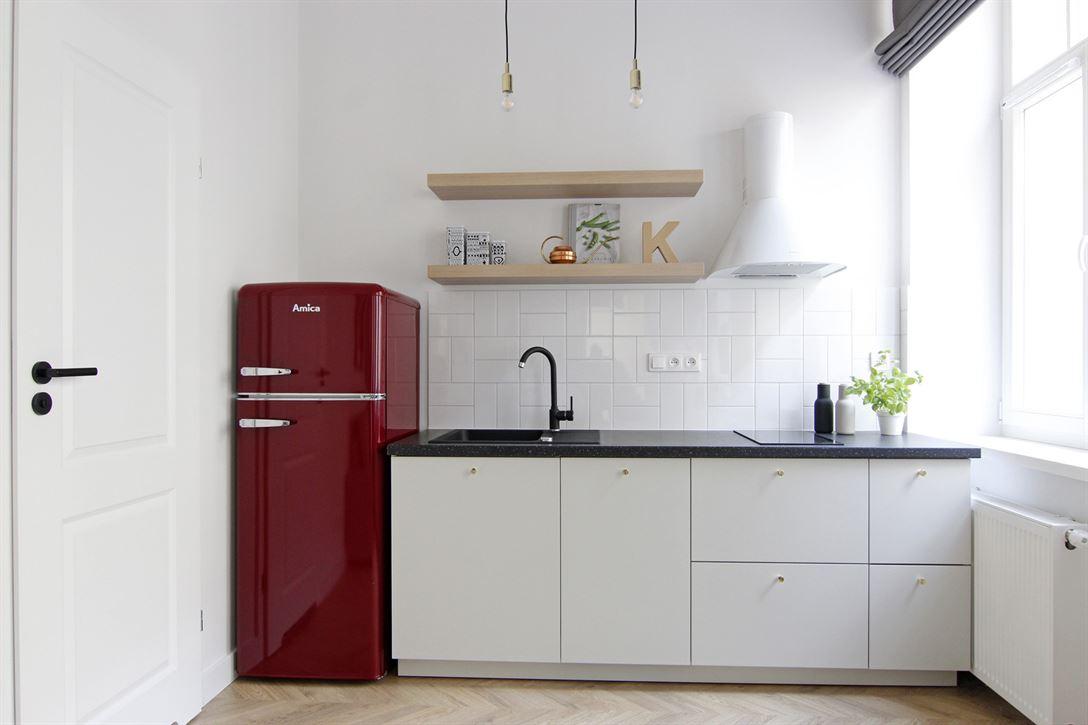 Projekt aneksu kuchennego w mieszkaniu w Warszawie