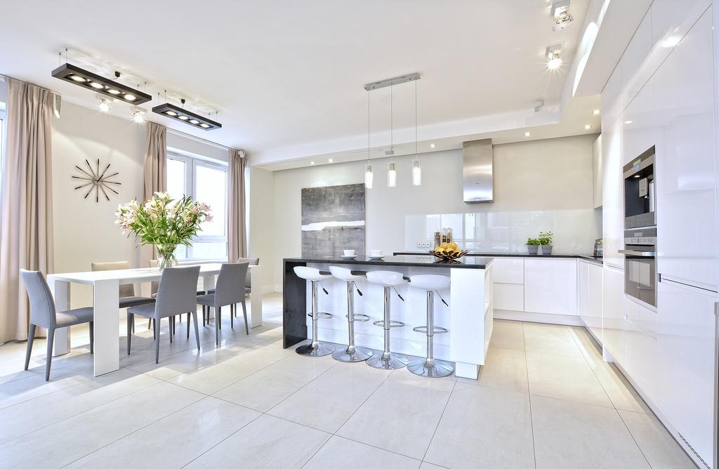 Home staging kuchni w apartamencie w Warszawie