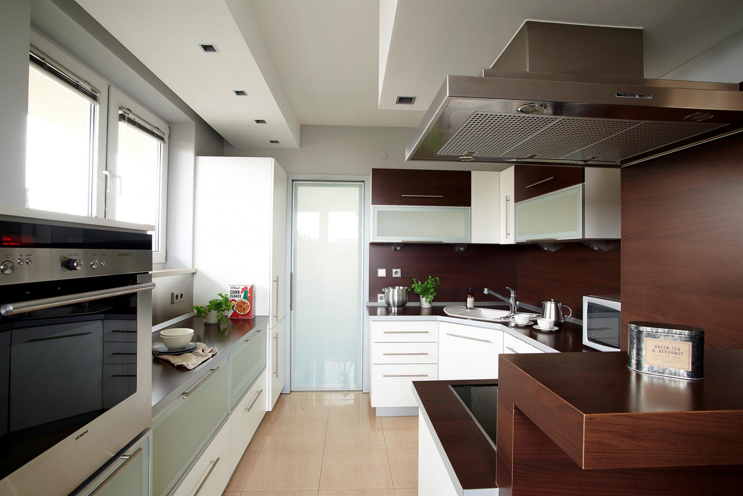 Home staging widnej kuchni w Warszawie