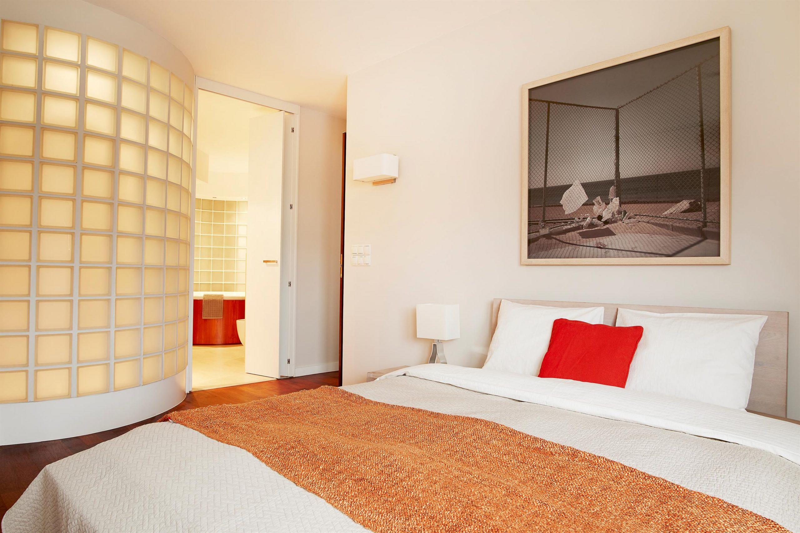 Home staging sypialni na warszawskiej ochocie