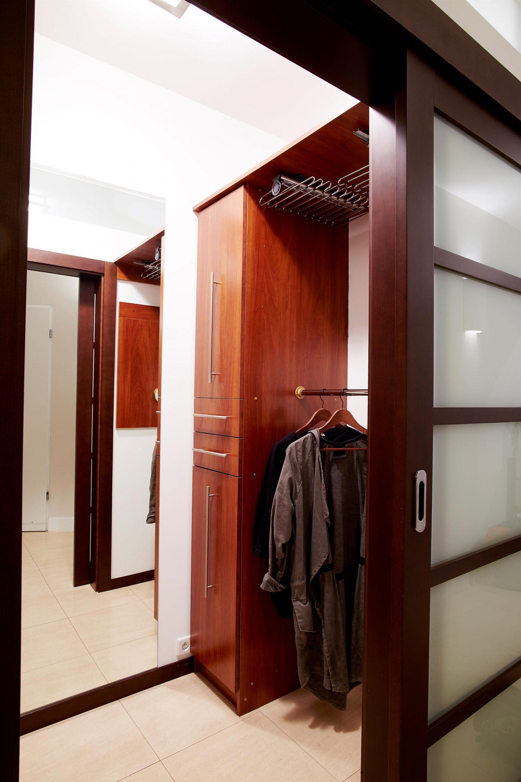 Home staging garderoby w Warszawie