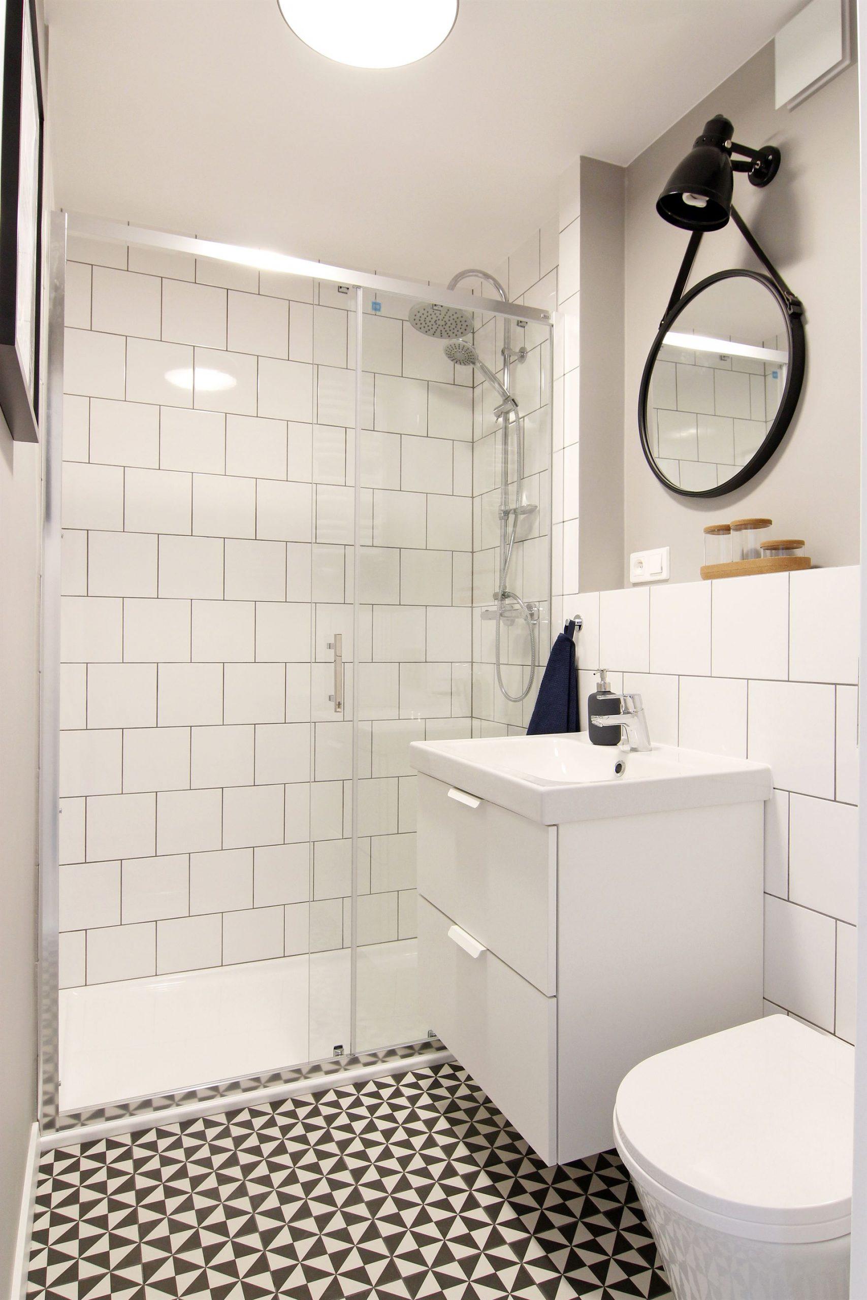 Home staging łazienki w mieszkaniu w Warszawie